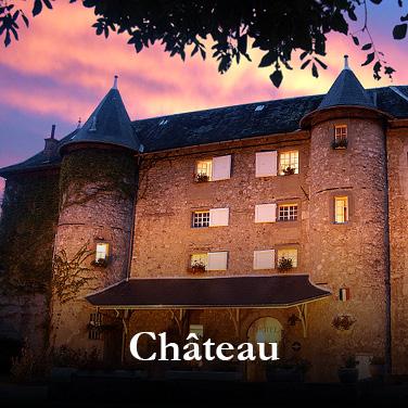 evasion gourmande au château